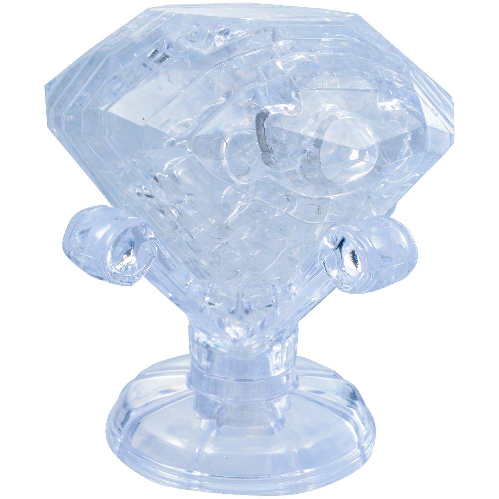 HCM KINZEL 3D Crystal puzzle Diamant 43 dílků