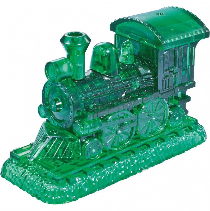 HCM KINZEL 3D Crystal puzzle Lokomotiva 38 dílků