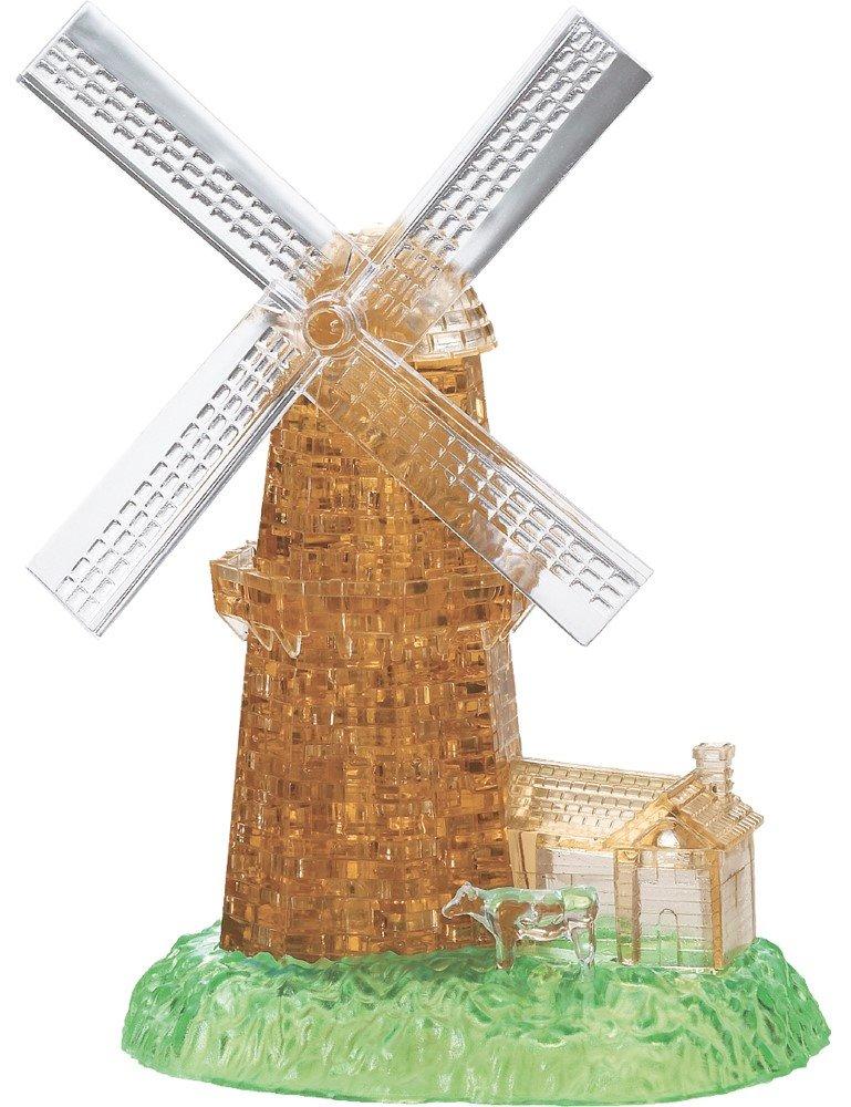 HCM KINZEL 3D Crystal puzzle Větrný mlýn 64 dílků