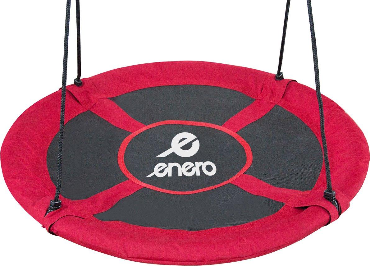 ENERO Houpací kruh Čapí hnízdo (průměr 100cm) červený