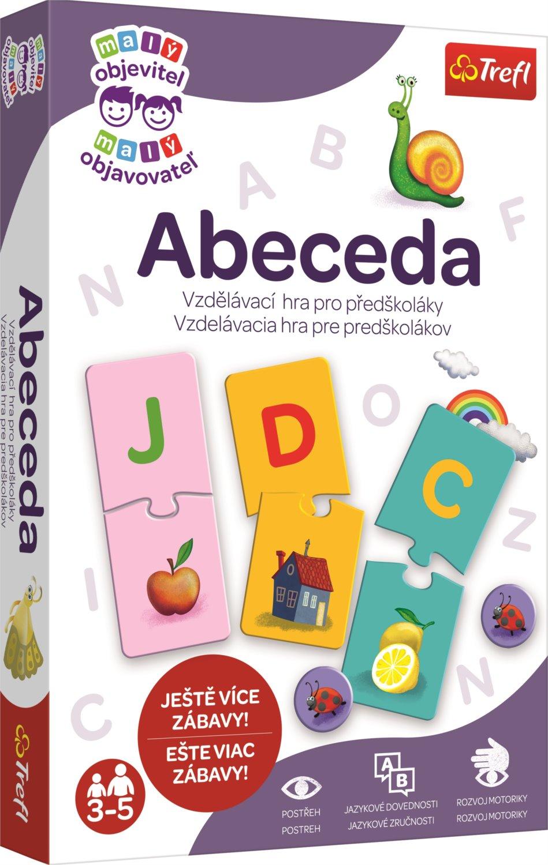TREFL Vzdělávací hra Malý objevitel: Abeceda