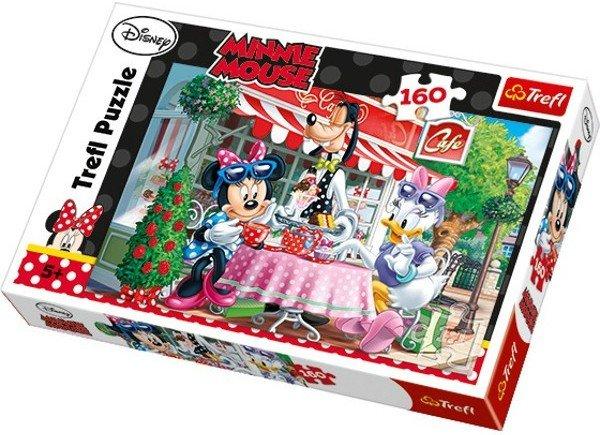 TREFL Puzzle Minnie s Daisy v kavárně 160 dílků 591d206b2b5
