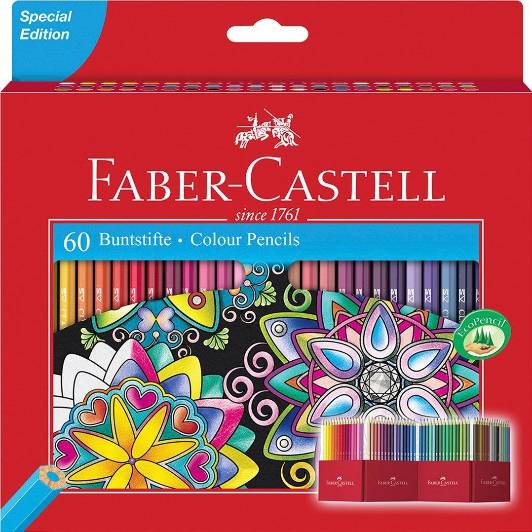 Faber-Castell Pastelky 60ks