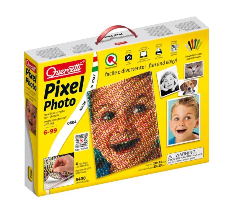 QUERCETTI Pixel Art Photo 4 desky (6.400 ks)