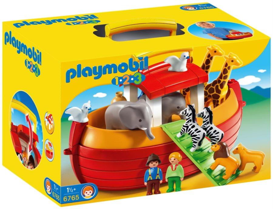 PLAYMOBIL® 1.2.3 6765 Přenosná Noemova Archa