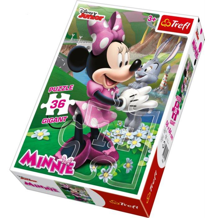 TREFL Puzzle Minnie GIGANT 36 dílků be76de2eab9