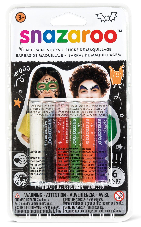 SNAZAROO Tužky na obličej (černá sada)