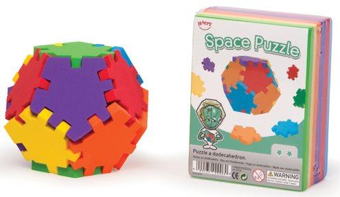 HAPPY CUBE Vesmírný dvanáctistěn (dodekahedron)