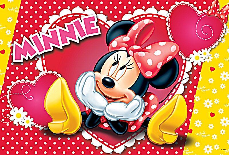TREFL Puzzle Zamilovaná Minnie 160 dílků 1d6f9985670